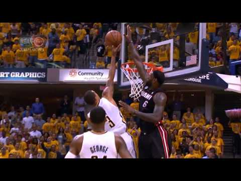 LeBron James Top 10 Plays | 2013 NBA Playoffs
