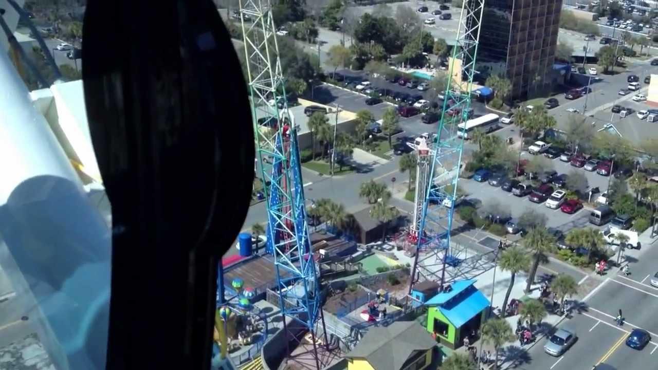 Myrtle Beach Boardwalk Ferris Wheel Ride