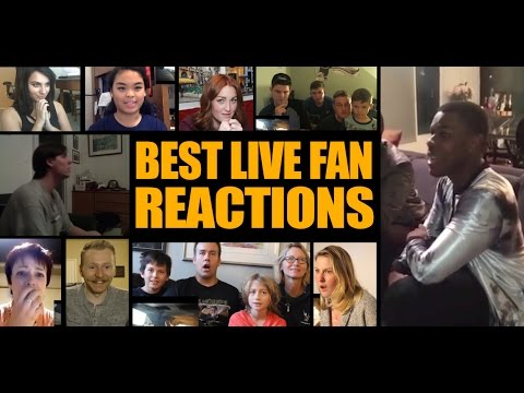 Star Wars Trailer Watch with Live Fan Reactions & John Boyega