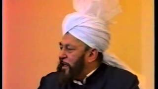 Friday Sermon 18 January 1991