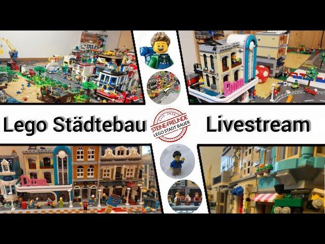 Lego Städtebau Stream - Bauspass pur!