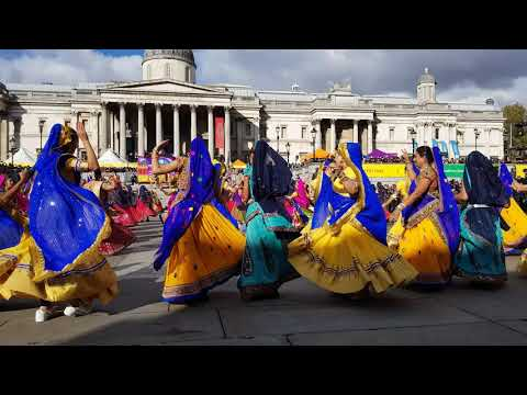 Ghoomar - Diwali on Trafalgar Square 2018