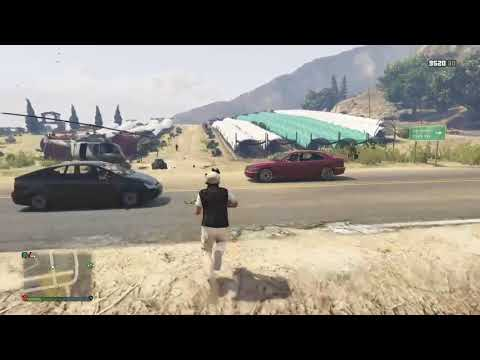 Grand Theft Auto V   Finding the Treasure with Friends!!