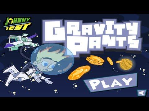 Cartoon Network Games: Johnny Test - Gravity Pants
