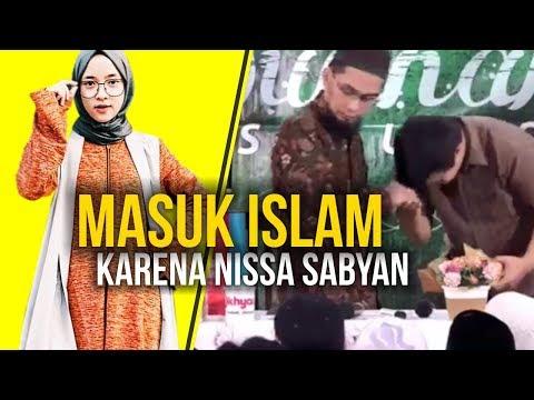 MASYAALLAH‼️ Pemuda Ini Masuk Islam karena Shalawat Nissa Sabyan - Ustadz Adi Hidayat LC MA