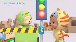 Animasi murotal QS Al Zalzalah - Al Qori'ah video hutos mini