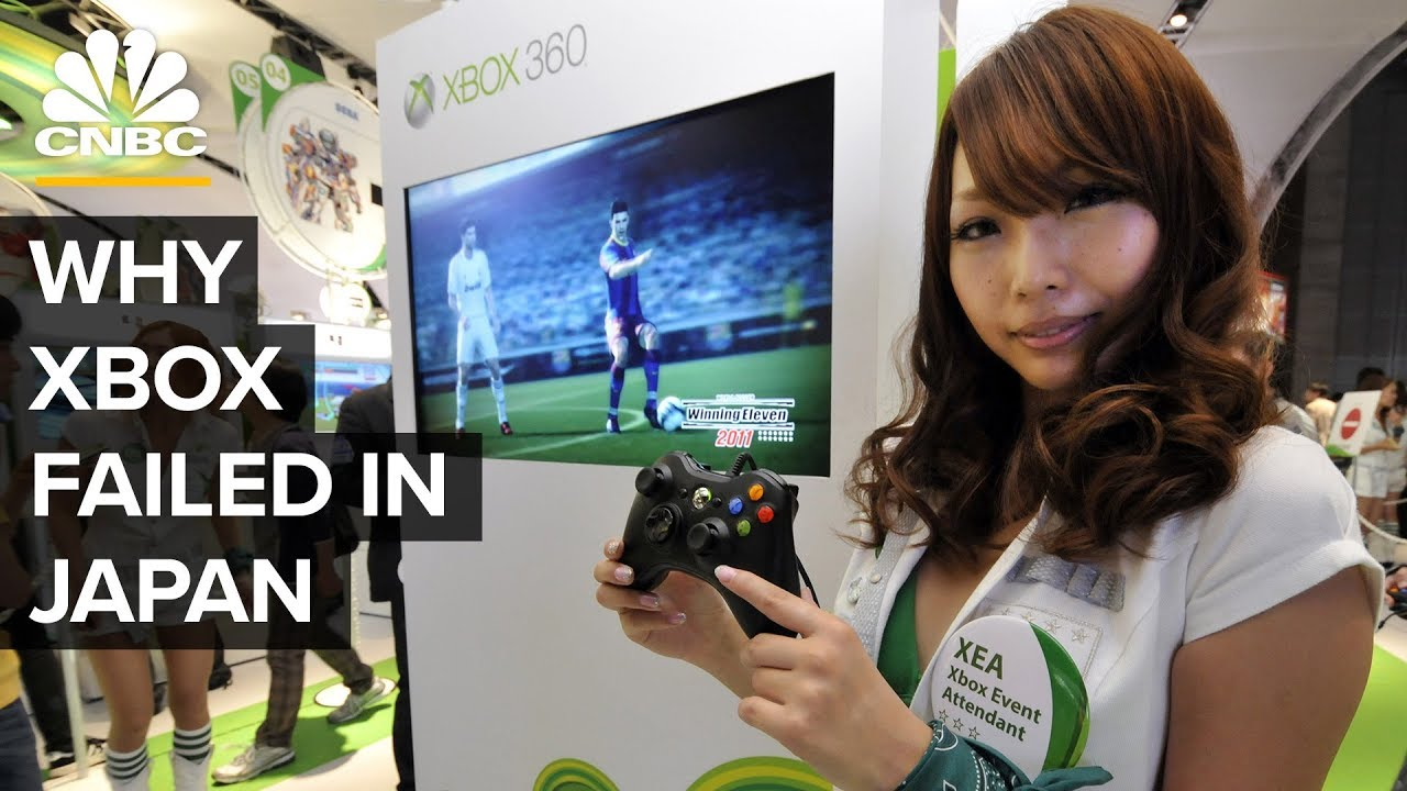 Why Xbox Failed In Japan Youtube