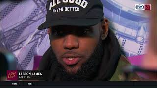LeBron praises Knicks' Jeff Hornacek, throws subtle shade at Phil Jackson
