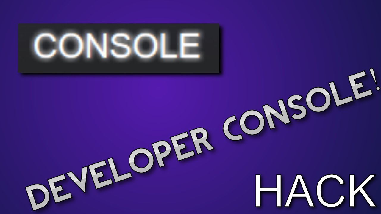 How to get the HIDDEN Steam Developer Console! (Command Prompt)