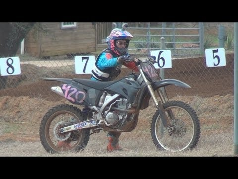 RACING THE NEW BIKE | 2017 FC350 | Cycle Ranch MX