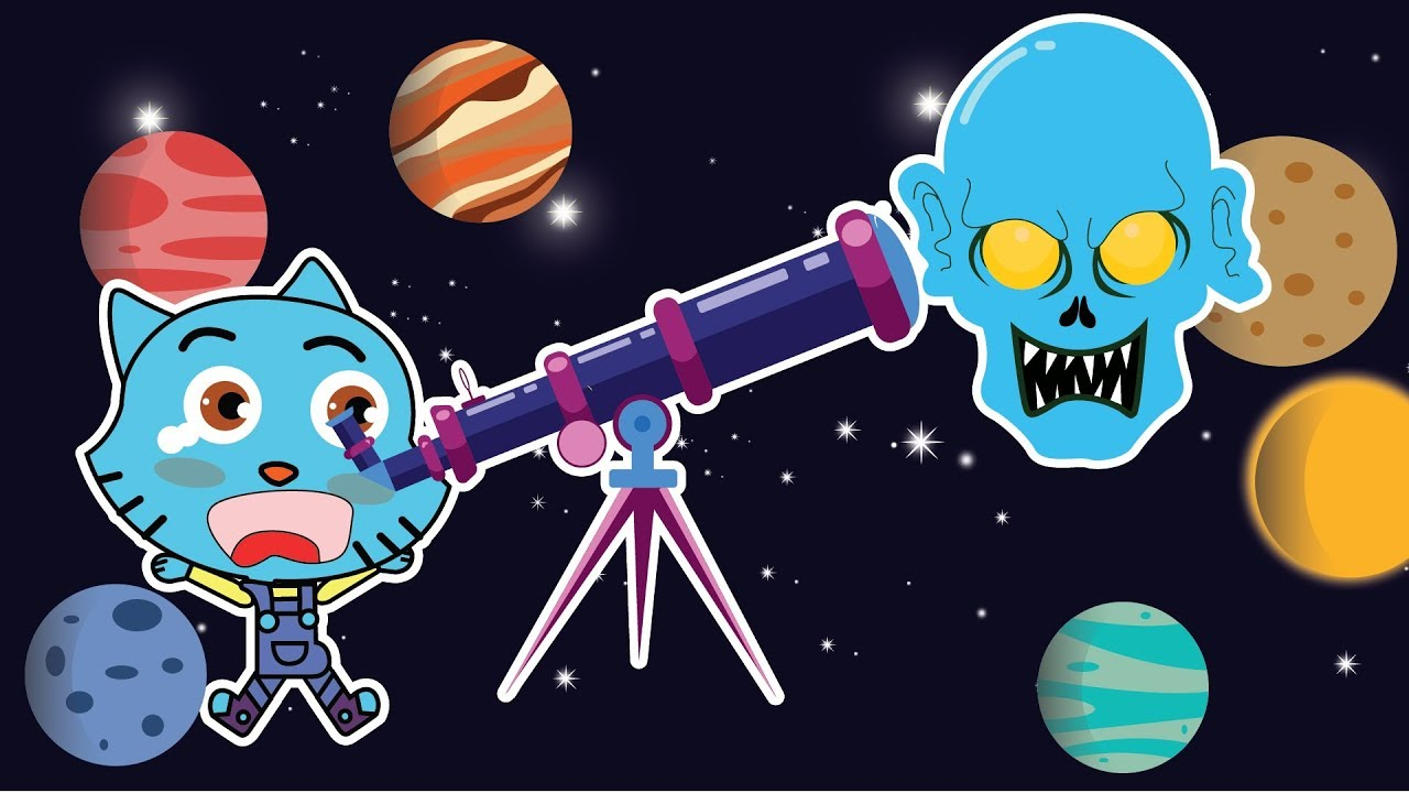 Learn the PLANETS\' NAMES for kid - CARTOON TV - Gumball family - YouTube