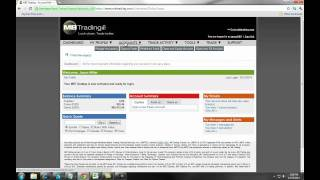 MB Trading Live Equities/Options/Futures Account Setup