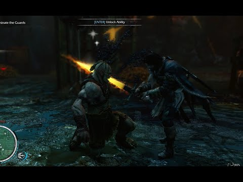 STATUE DESTROYED !!! | MIDDLE EARTH SHADOW OF MORDOR | A BIG BLAST !! |