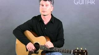 Open-String Chords lesson from Acoustic Guitar