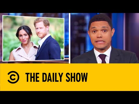 Prince Harry & Meghan Markle Drop Their Royal Titles | The Daily Show With Trevor Noah
