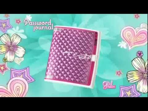 Mattel - Girl Tech - Password Journal