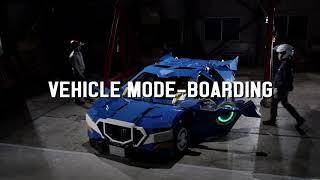 【速報】全長4mのロボットが車にトランスフォーム!人が乗れるロボット...