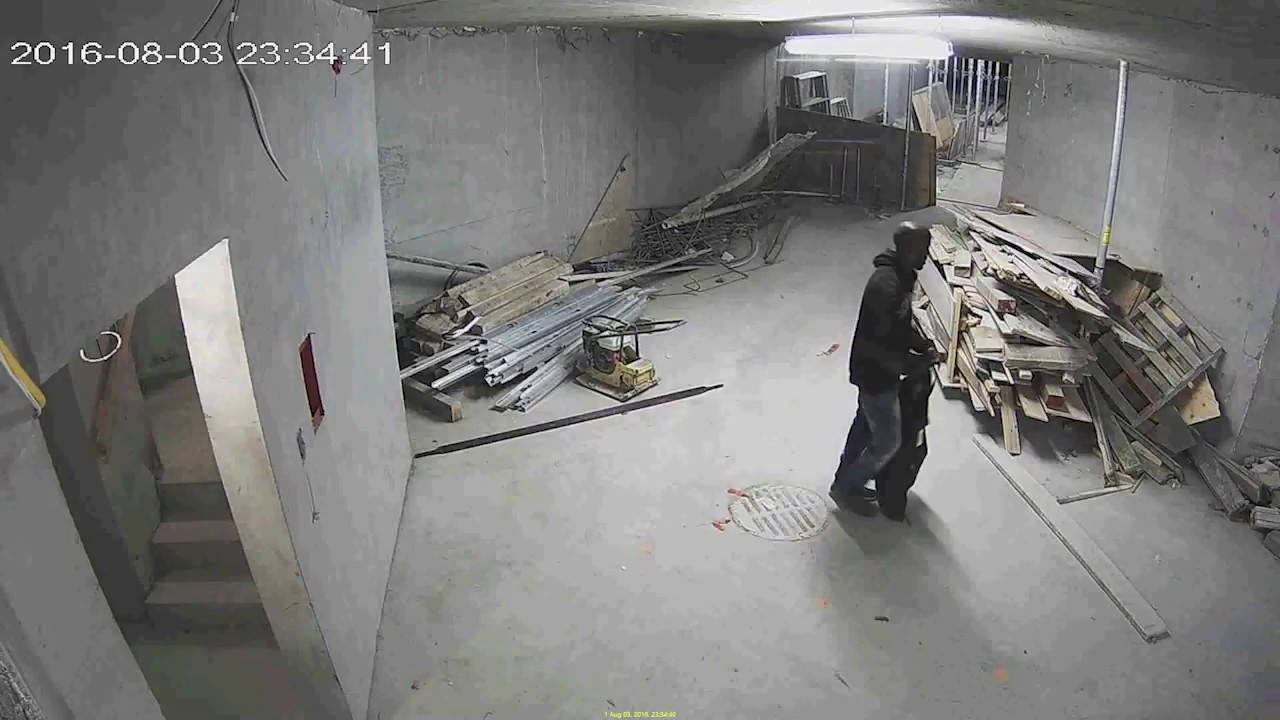 Trespasser Attempts to Steal from Construction Site