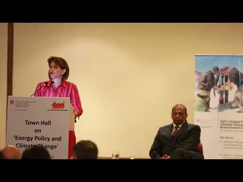 Talk by H.E. Doris Leuthard on 'Energy Policy and Climate Change'