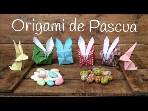 Manualidades para pascua caja conejo de papel - Cajas decoradas para bebes ...