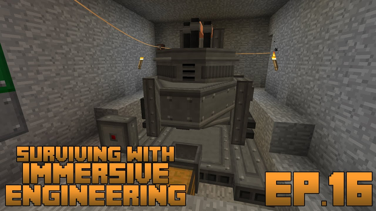 Surviving With Immersive Engineering :: Ep.16 - The Arc ...