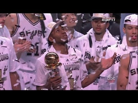 Kawhi Leonard Full Highlights Spurs vs Heat Game 5 (6/15/2014) 22 Pts, 10 Reb - Project Spurs