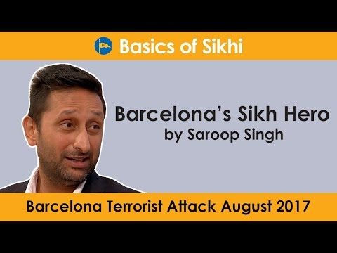 Barcelona's Sikh Hero by Saroop Singh