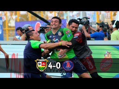 Santa Tecla FC [4] vs Alianza FC [0] FULL GAME+Radio: 5.21.2017: Final ES Clausura 2017