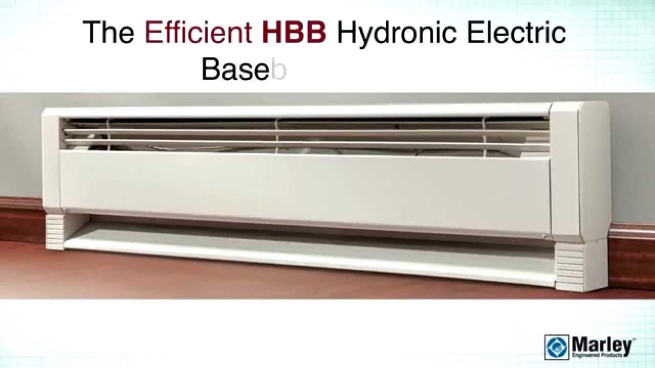 Qmark Marley HBB Hydronic Electric Baseboard Heater  YouTube