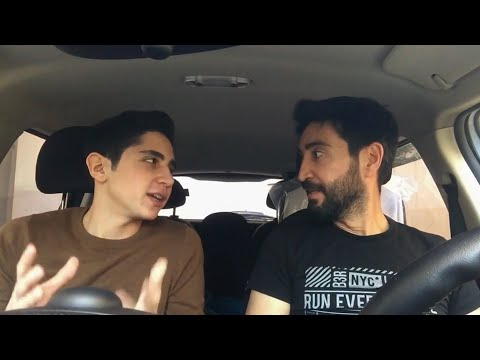 Lebanese driving | Wissam and Jad Sabbagh