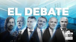 #DebateAr2019 Segundo Debate Presidencial - Salón de Actos de la Facultad de Derecho - UBA