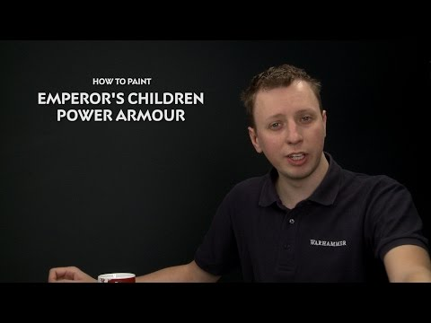 WHTV Tip of Day - Emperor's Children Power Armour.