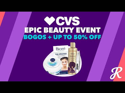 The Deal Download With CVS: All About the CVS Epic Beauty Event