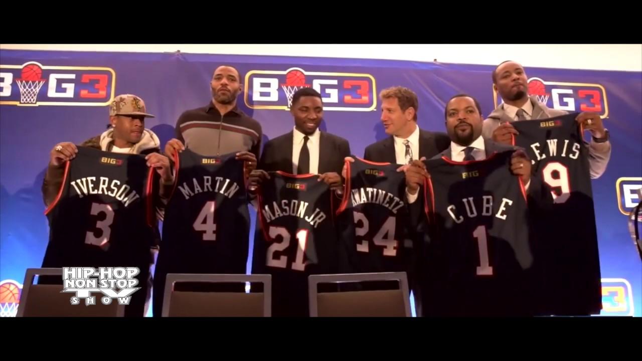 wholesale dealer 1684e 730d2 NBA owner MARK CUBAN speakers about ICE CUBE BIG 3 League. Allen IVERSON