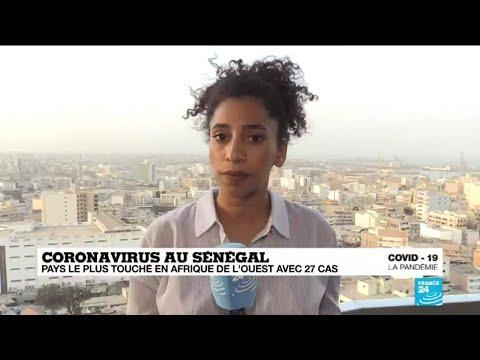 Coronavirus: le Sénégal, pays le plus touché en Afrique de l'Ouest