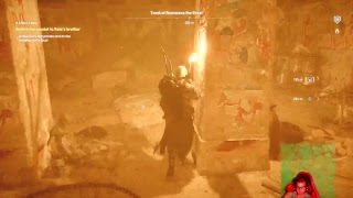 Ps4 assassin creed origins the cursed of the pharaohs god