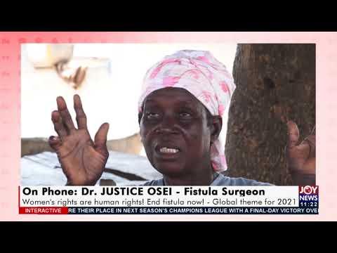 Ending Obsteric Fistula - JoyNews Interactive (24-5-21)