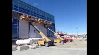 Three Titan Booms, One Job Site - Dealer Submitted Video