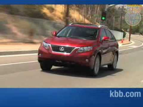 2010 Lexus RX 350 Review - Kelley Blue Book