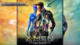 "X-Men: Días Del Futuro Pasado - Soundtrack 16 ""The Attack Begins"" - HD"