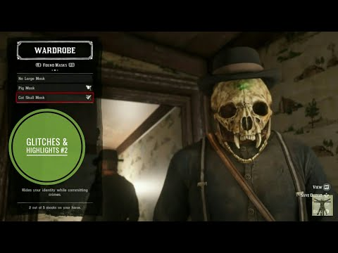 Glitches & Highlights #2 Red Dead Redemption 2 Blooper Reel thumbnail
