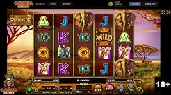Betsoft Stampede Slot Gameplay and Big Win - Cleopatra Casino