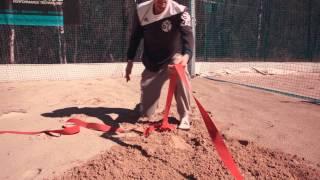 Как повесить волейбольную сетку