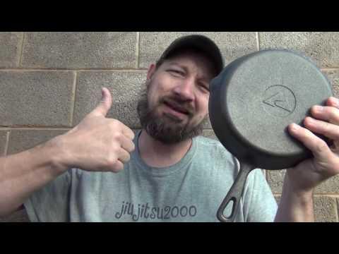 "Ozark trail 8"" cast iron pan"