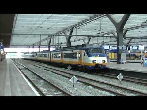 NS SGMm 2122+2993 vertrekken van station Rotterdam Centraal