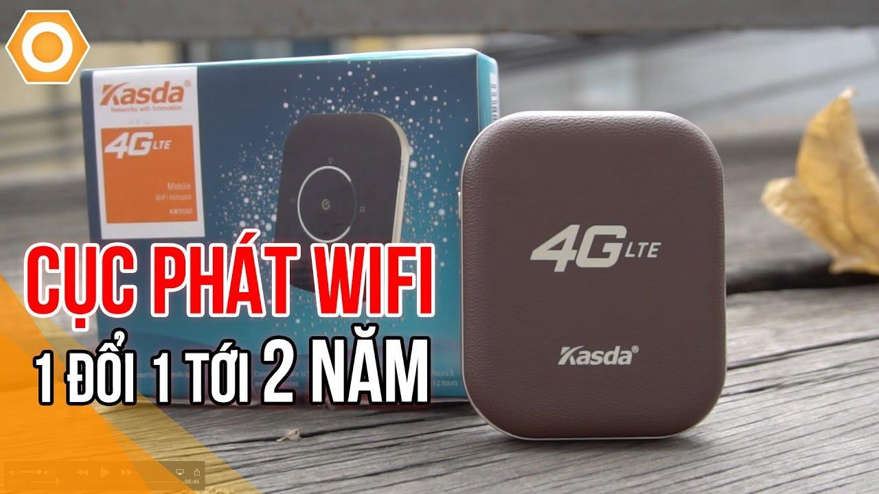 Cục phát Wifi 4G Kasda KW9550 cực rẻ - 1 đổi 1 tới 2 năm