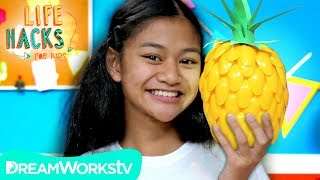 DIY Pineapple Lamp | LIFE HACKS FOR KIDS