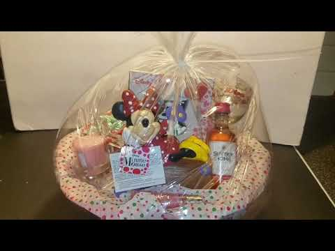 How To Shrink Wrap Your Gift Basket | 2017 Christmas Gift Ideas