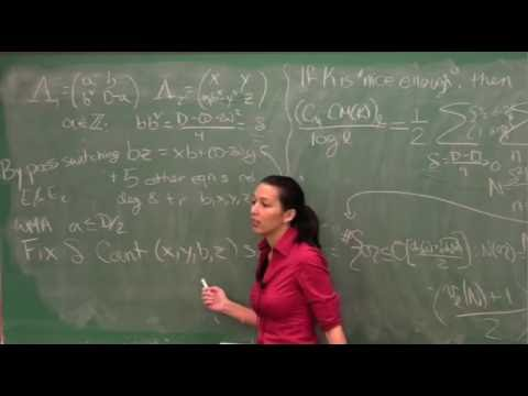 Bianca Viray - An arithmetic intersection formula [2011]