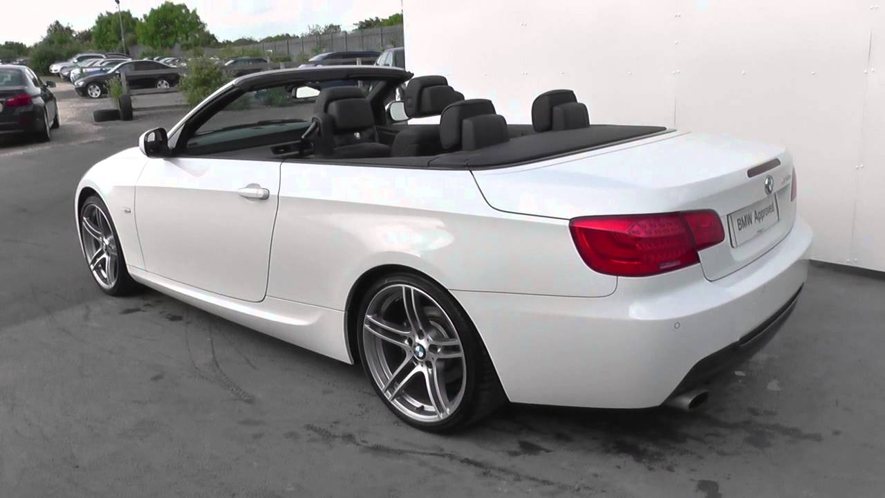 bmw 3 series convertible e93 320d m sport convertible. Black Bedroom Furniture Sets. Home Design Ideas